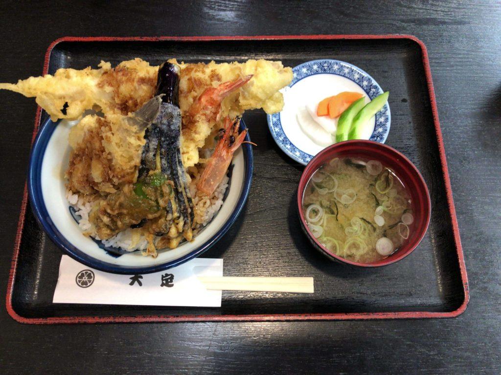 穴子天ぷら丼